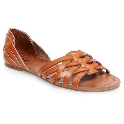 Gena Strappy Flat Huarache Sandals Mossimo Supply Co.™- Cognac 7