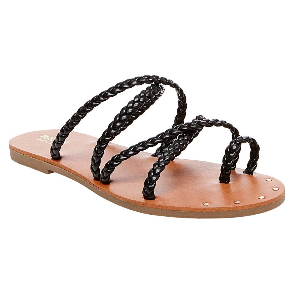 Womens Eleanore Slide Sandals - Mossimo Supply Co. Black 7.5