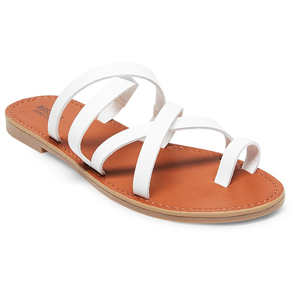 Womens Lina Slide Sandals - Mossimo Supply Co. White 6