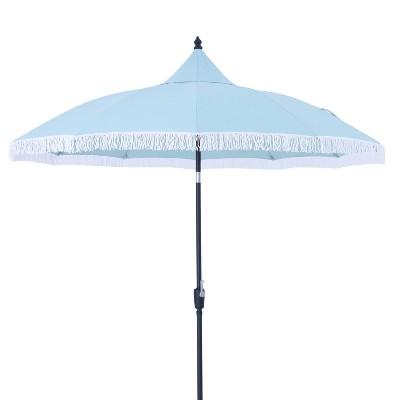 9u0027 Round Carousel Patio Umbrella   Threshold™ : Target
