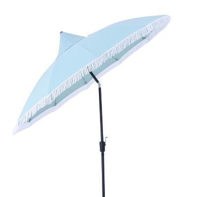 Superior 9u0027 Round Carousel Patio Umbrella   Threshold™