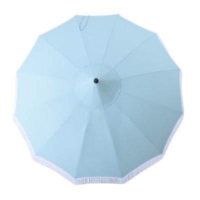 9u0027 Round Carousel Patio Umbrella   Threshold™