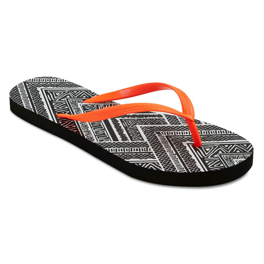 Womens Letty Flip Flop Sandals - Mossimo Supply Co. Orange L