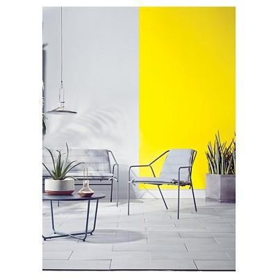 hexagons concrete planter large gray modern by dwell magazine