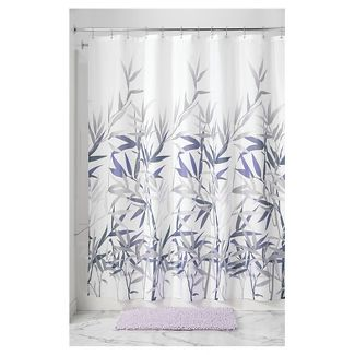 purple gray shower curtain : Target