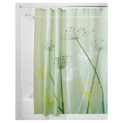 thistle shower curtain interdesign
