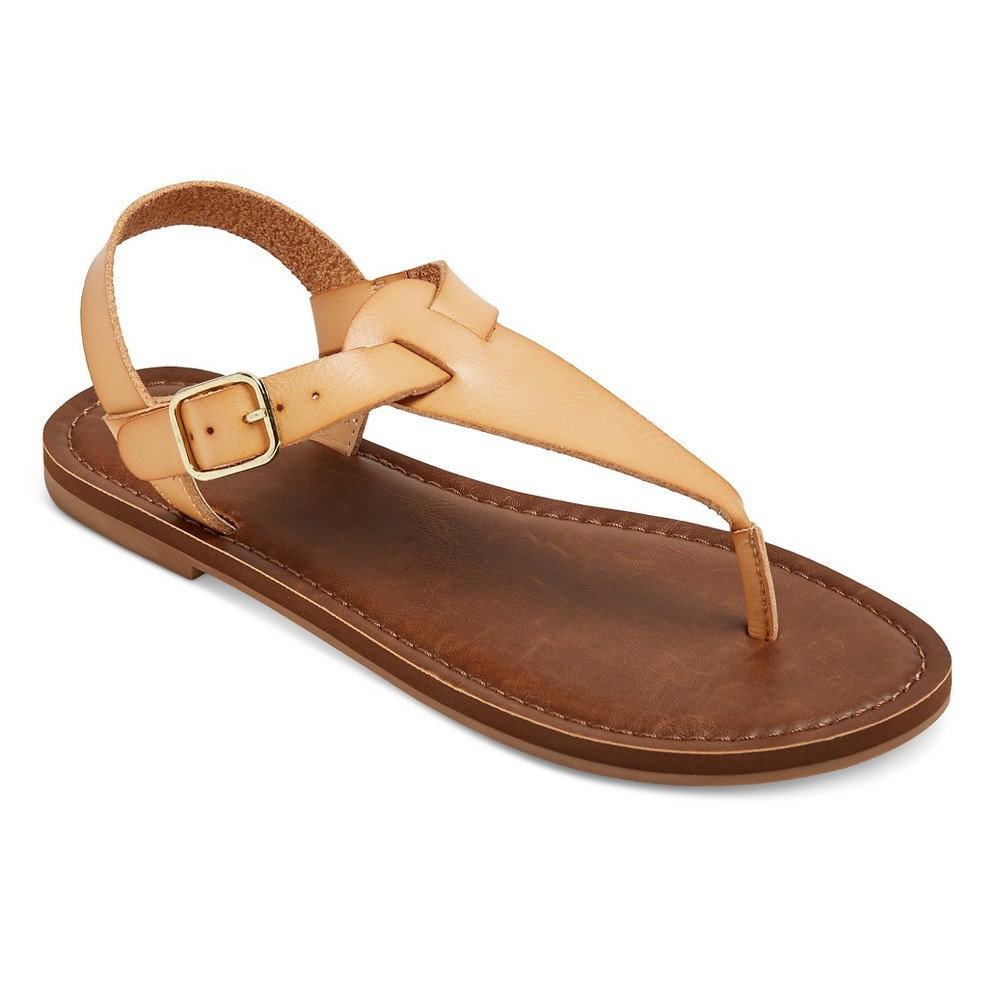 Womens Lady Thong Sandals - Mossimo Supply Co. Tan 9.5