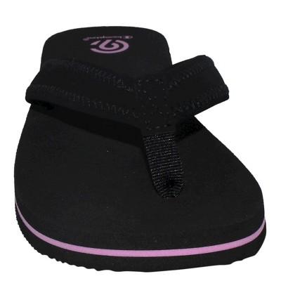 Women's Carin Flip Flop Sandals - C9 Champion Black 6