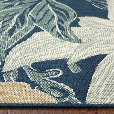 Outdoor Rug   Woodcut Floral   Threshold™