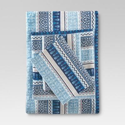 Fair Isle Flannel Sheet Set : Target