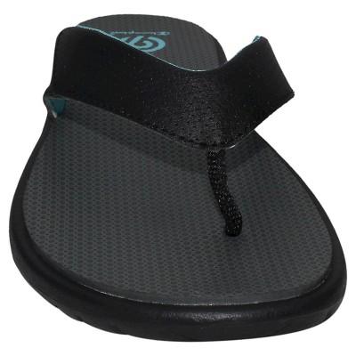 e0b18c461390d Women s Chantel Sporty Flip Flop Sandals - C9 Champion® Black Blue.  19.99