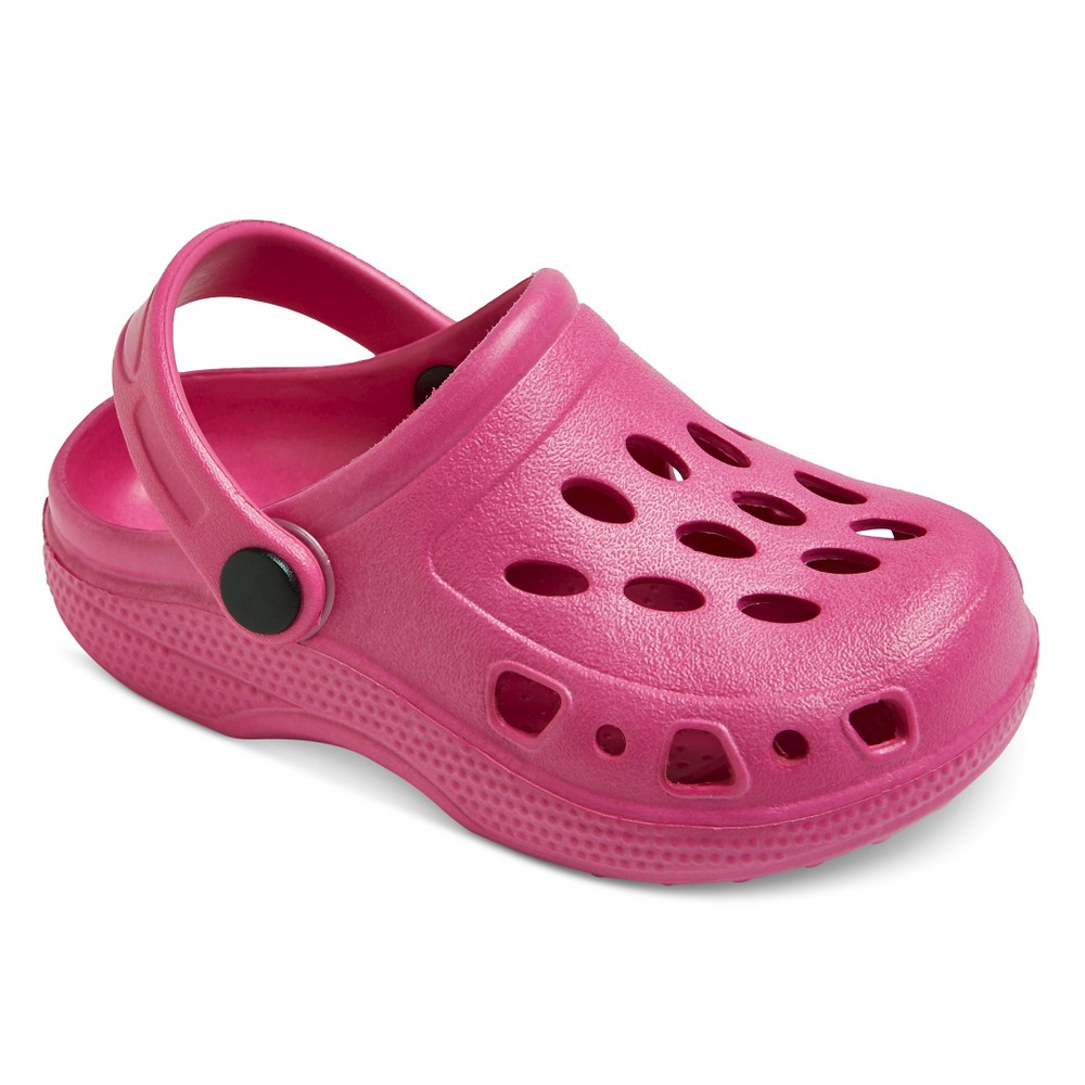 Toddler Girls Kailey Clogs Cat & Jack - Pink XS, Size: 6-7