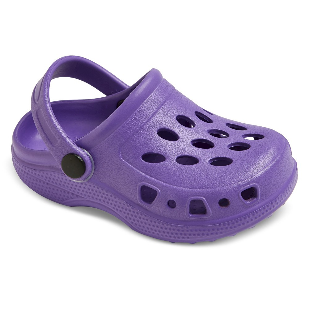 Toddler Girls Kailey Clogs Cat & Jack - Purple XS, Size: 6-7