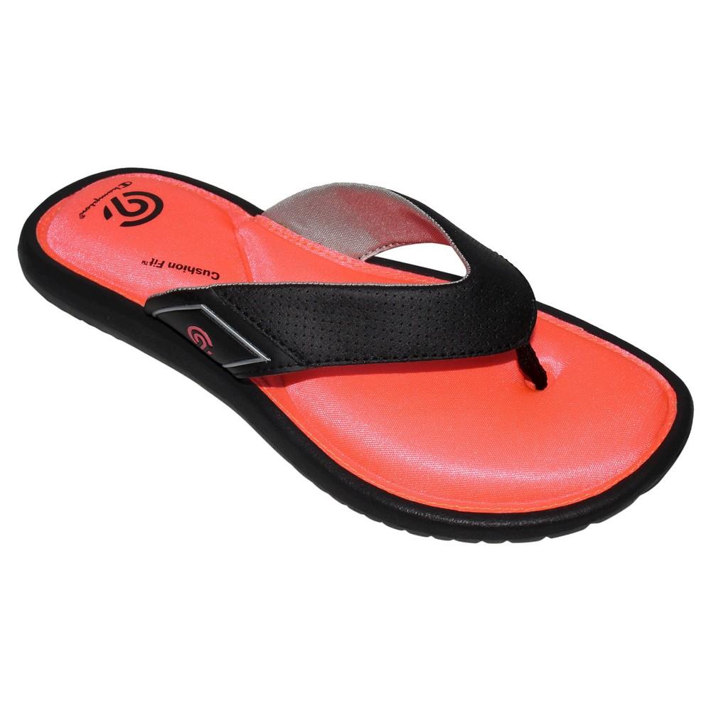 Womens Lindie Sporty Flip Flop Sandals - C9 Champion Pink 10