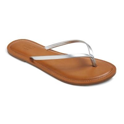 854e96e1940b Women s Rowen Flip Flop Sandals - Mossimo Supply Co.™ Tan M   Target