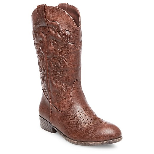 Girls' Natalia Western Boots Cat & Jack™ - Brown : Target