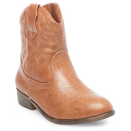 Girls' Linda Zip Up Western Boots - Cat & Jack™ : Target