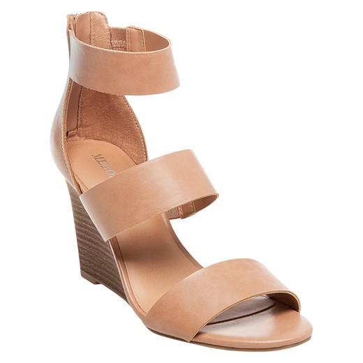Women's Karlyn Quarter Straps Wedge Sandals - Merona™ : Target