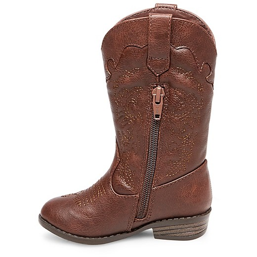 Toddler Girls' Natalia Authentic Cowboy Western Boots Cat & Jack ...