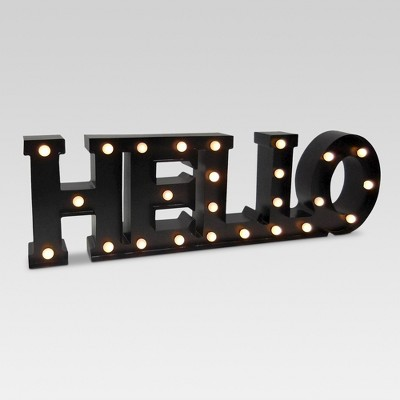 Outdoor Marguee Sign - Hello - Threshold™