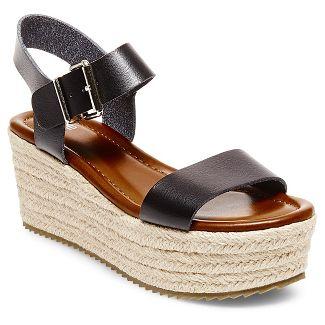 1b07735768d9 Women s Nonie Metallic Flatform Espadrille Sandals Mossimo Supply Co.™