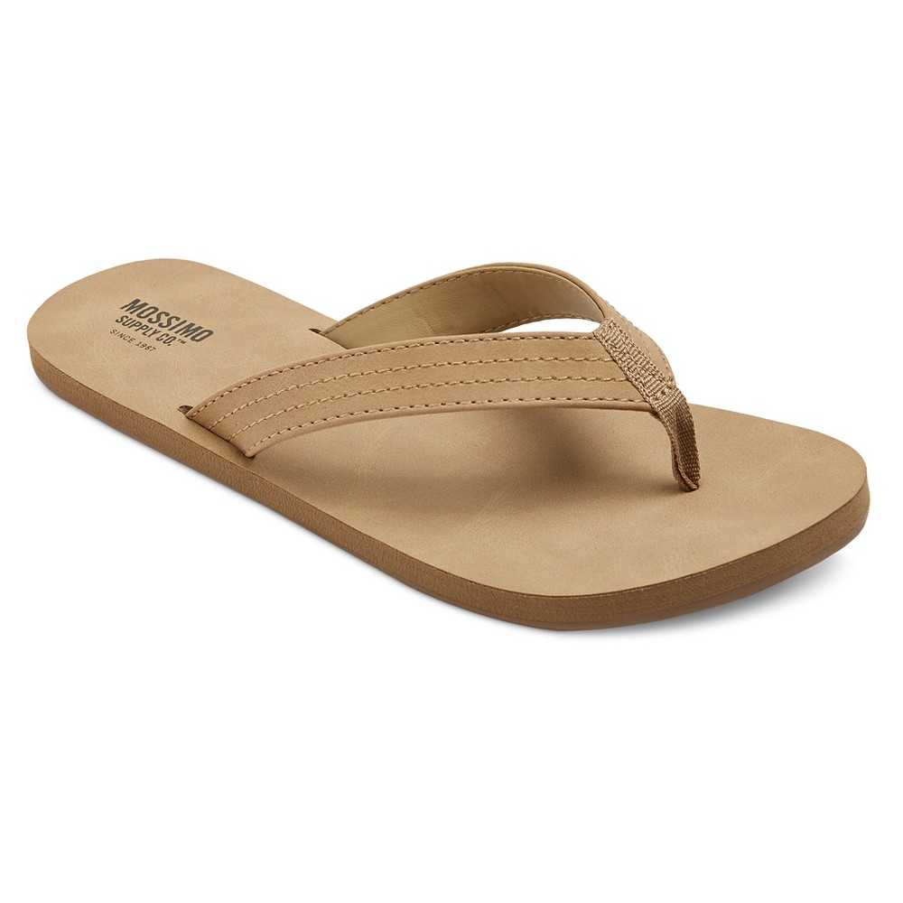 Womens Ophelia Flip Flop Sandals - Mossimo Supply Co. Brown 11