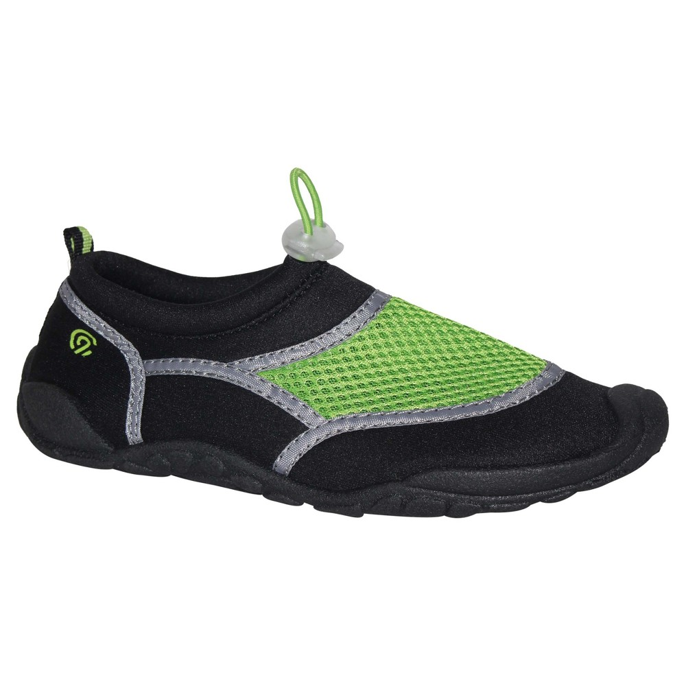 Boys Peter Water Shoes XL - C9 Champion - Black/Green