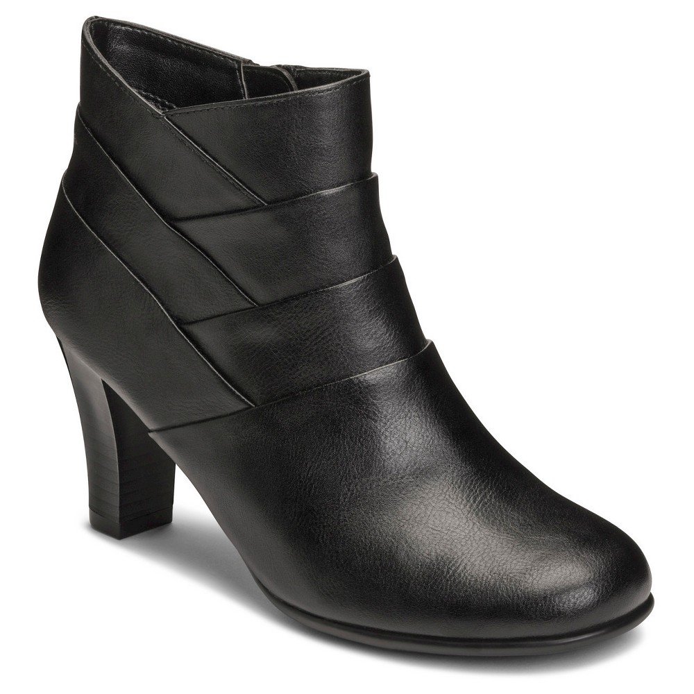 Womens A2 by Aerosoles Best Role Ankle Boots - Black 5