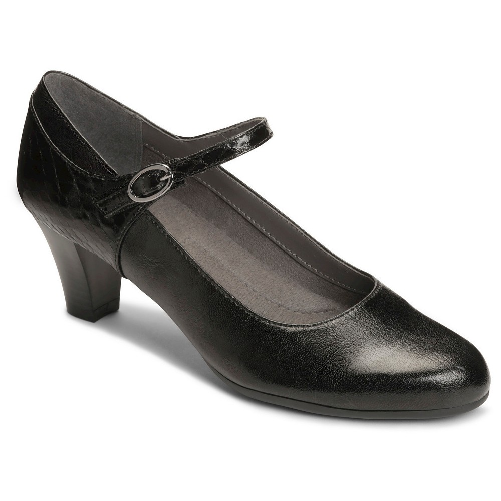 Womens A2 by Aerosoles For Shore Mary Jane Shoes - Black 6