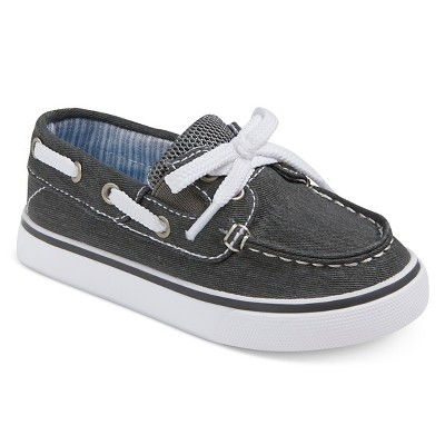 Toddler Boys' Clark Boat Shoes Cat & Jack™ - Gray 5