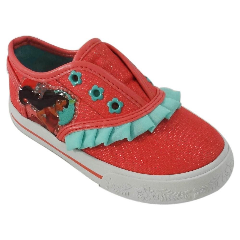 Toddler Girls Disney Elena Sneakers - Coral 8, Pink