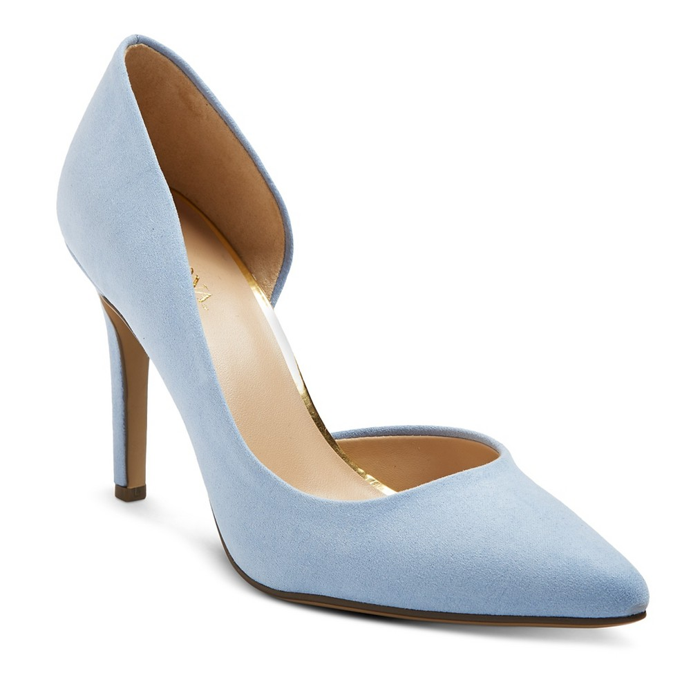 Womens dOrsay Lainee Pumps with 3.75 Heels - Merona Blue 10