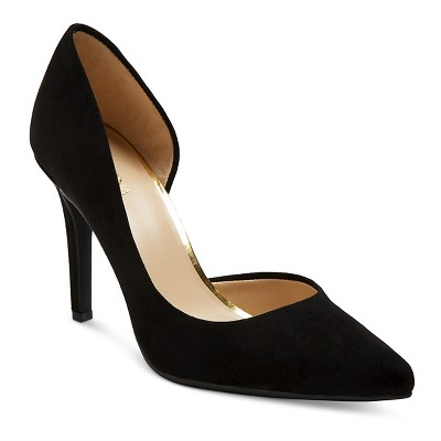 Women's d'Orsay Lainee Pumps with 3.75  Heels - Merona™ Black 9.5