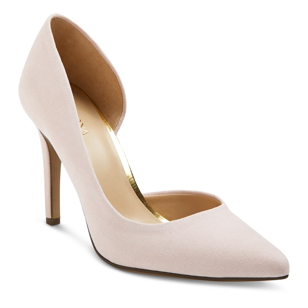 Women's d'Orsay Lainee Pumps with 3.75 Heels Merona – Pink 9