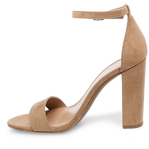 Women's Lulu Wide Width High Block Heel Sandal Pumps with Ankle ...