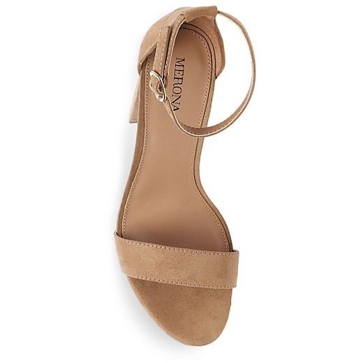 Women's Lulu Wide Width High Block Heel Sandal Pumps with Ankle ...