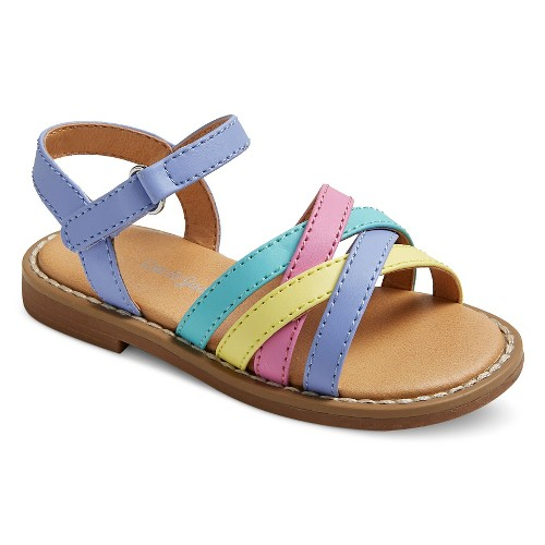 Toddler Girls' Genuine Kids Slide Sandals - Multi-Colored 6, Toddler Girl's, Multicolored