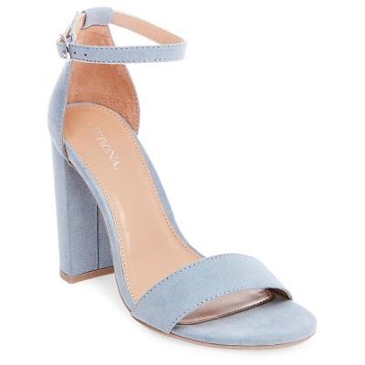 912921a3f15 Womens Lulu High Block Heel Sandal Pumps with Ankle Straps – Merona ...