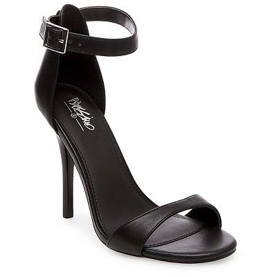 Women's Pamela Ankle Strap Sandals Mossimo™ - Black 9.5