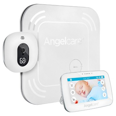 Angelcare 4.3  Video Movement Baby Monitor with Wireless Pad - AC417