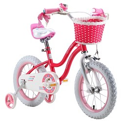 "RoyalBaby Kids Stargirl 12"" BMX Bike - Blue"