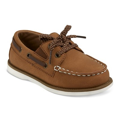 Toddler Boys' Clive Boat Shoes Cat & Jack™ - Brown 6
