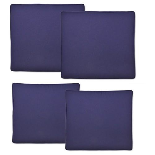 Ennismore 4-pc. Outdoor Cushion Set - Navy (Blue) - Threshold