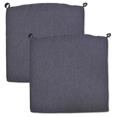 Fairmont 2-pk. Outdoor Dining Chair Cushion Set - Charcoal - Threshold™