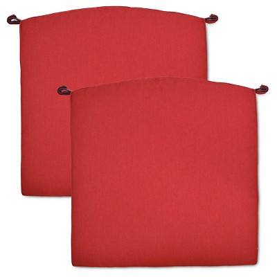Fairmont 2-pk. Outdoor Dining Chair Cushion Set - Red - Threshold™