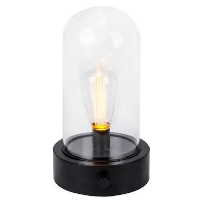 Outdoor Edison-Bulb Cloche - Black - Threshold™