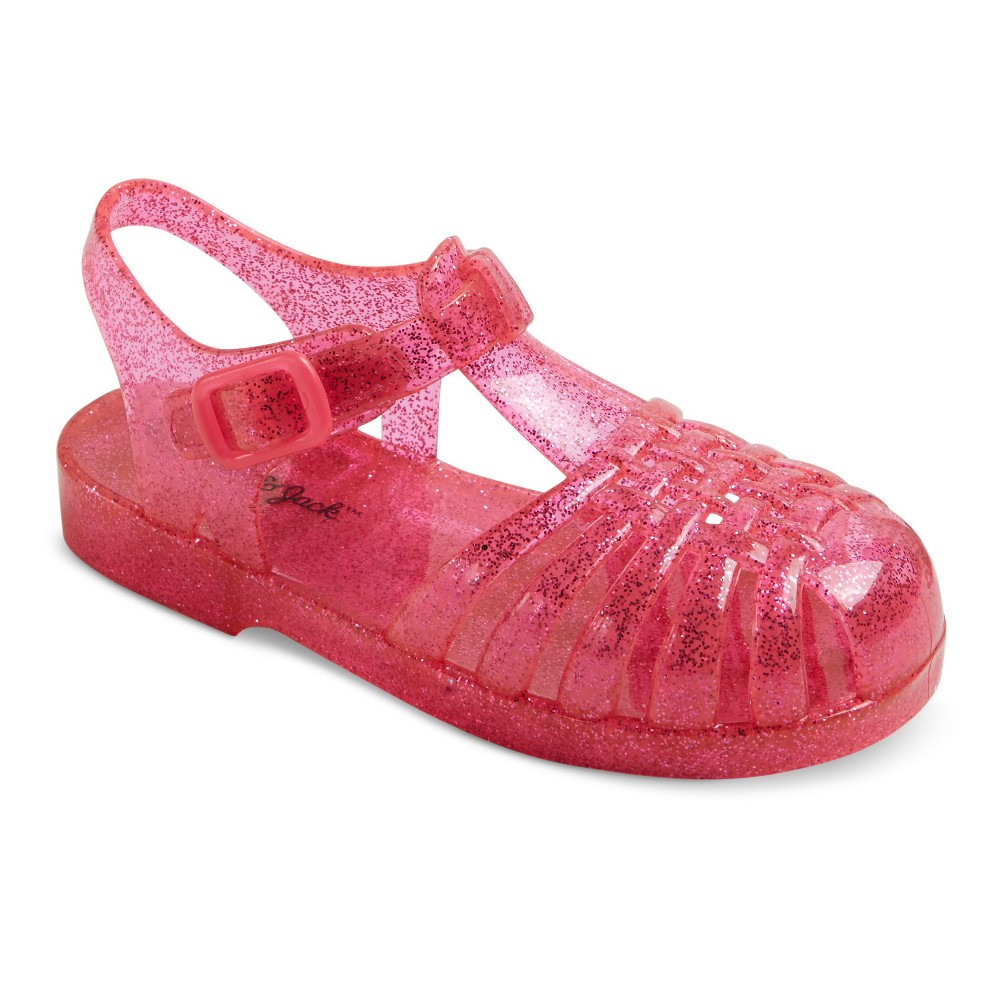 Toddler Girls Josephine Fisherman Jelly Sandals Cat & Jack - Pink XL