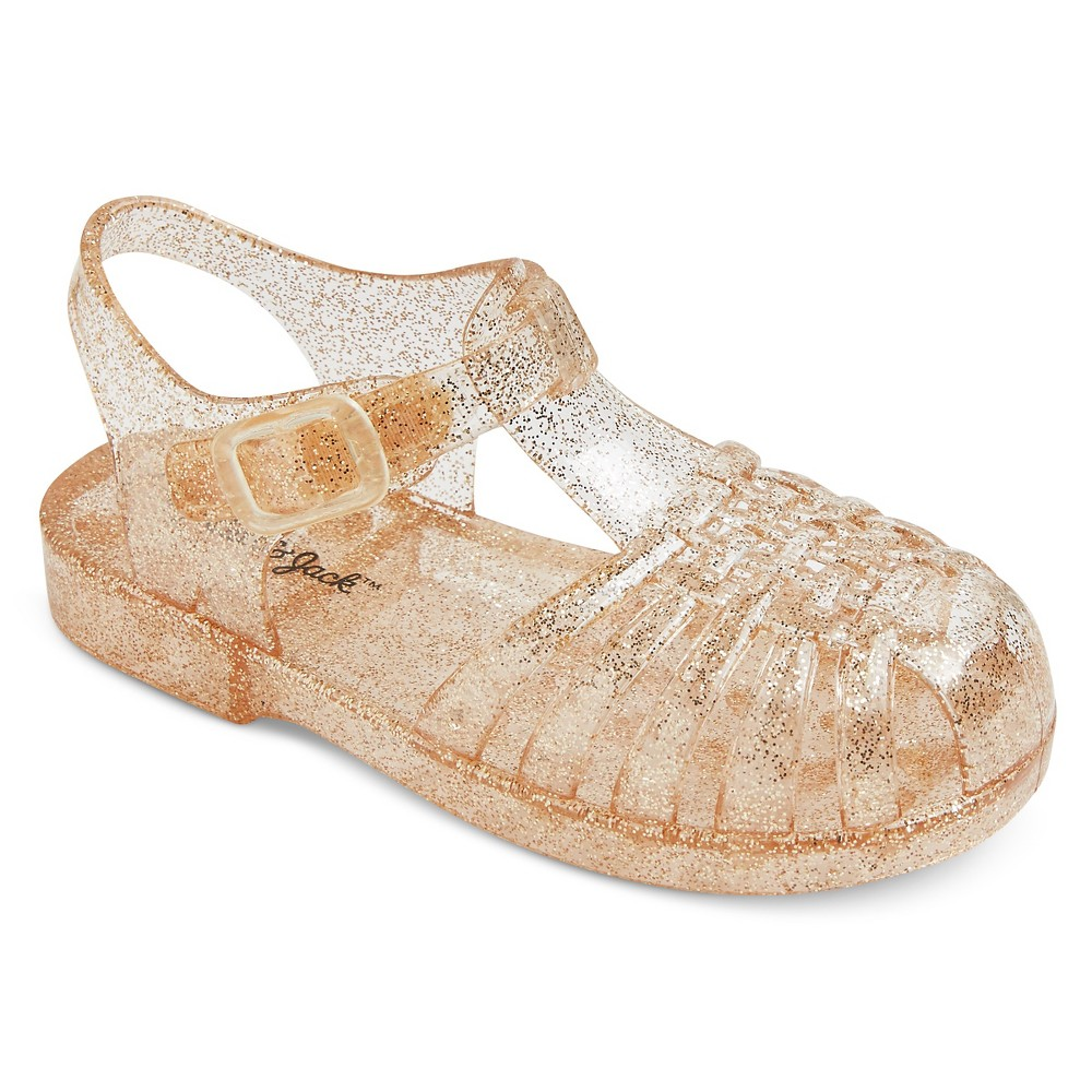 Toddler Girls Josephine Fisherman Jelly Sandals Cat & Jack - Gold M