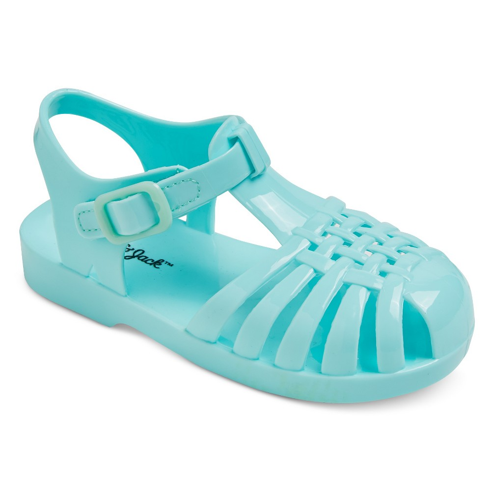 Toddler Girls Josephine Fisherman Jelly Sandals Cat & Jack - Blue XL