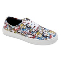 Women's Disney Princess Print Canvas Sneakers. opens in a new tab.